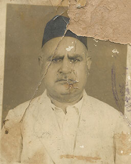 Old Damaged Photo