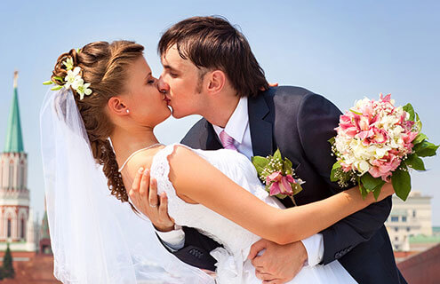 Wedding Couple Portait Photo